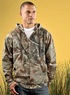 2011 - Adult Officially Licensed Real Tree Camouflage  Hooded Zip Front Sweatshirt